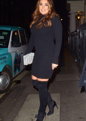 Tamara Ecclestone at The Arts Club in Mayfair