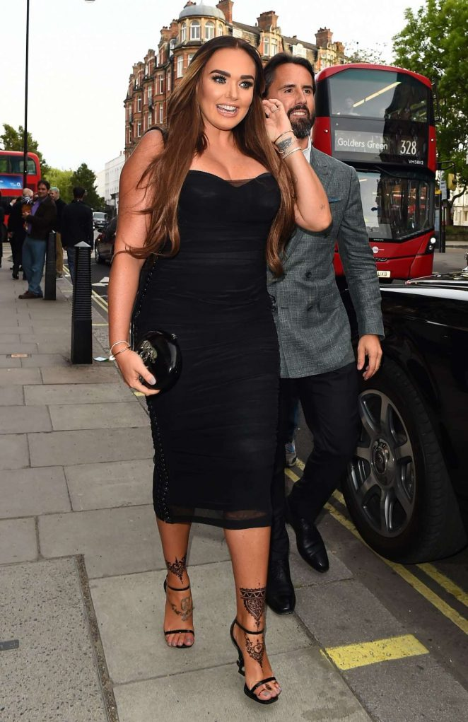 Tamara Ecclestone - Connor Brothers Call Me Anything But Ordinary Private View In London
