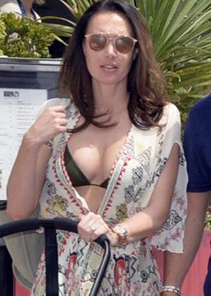 Tamara Ecclestone in Bikini Top out in Cannes