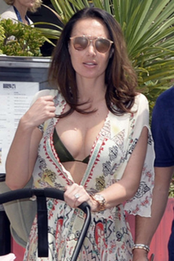 Tamara Ecclestone in Bikini Top out in Cannes