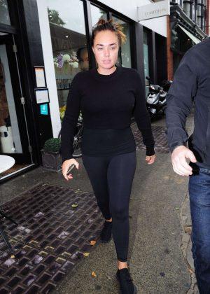 Tamara Ecclestone in Tights Out in London