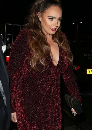 Tamara Ecclestone - Leaving Maddox art gallery in Notting Hill