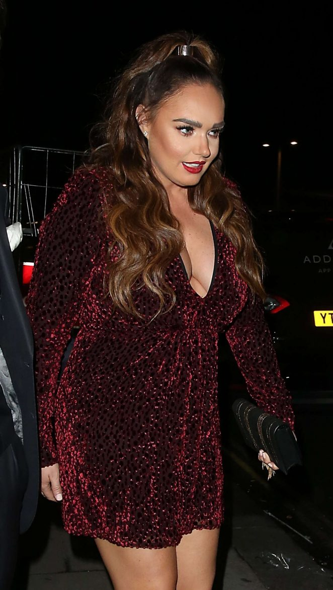 Tamara Ecclestone – Leaving Maddox art gallery in Notting Hill