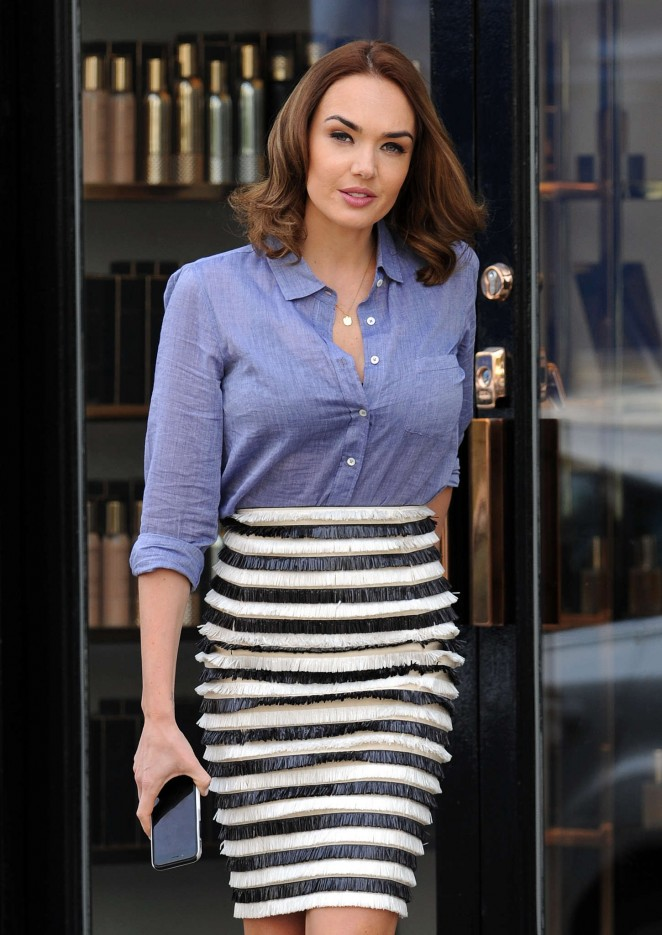 Tamara Ecclestone - Out and about in London
