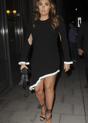 Tamara Ecclestone - Out and about in Mayfair