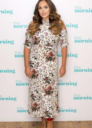 Tamara Ecclestone - This Morning TV Show in London