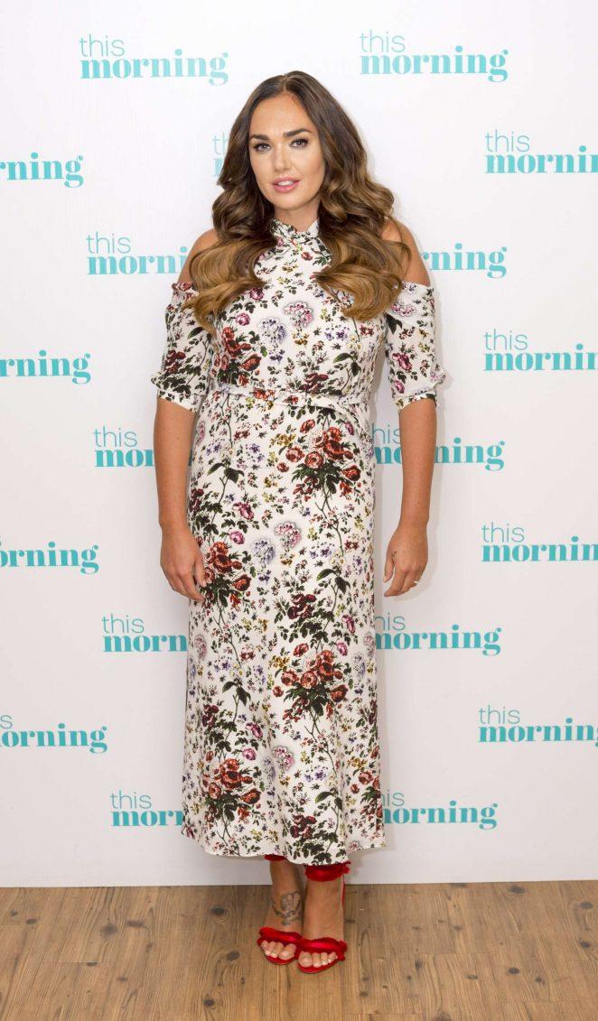 Tamara Ecclestone - This Morning TV Show in London