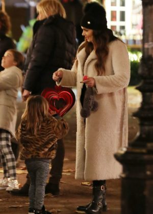 Tamara Ecclestone - Winter Wonderland at Hyde Park in London