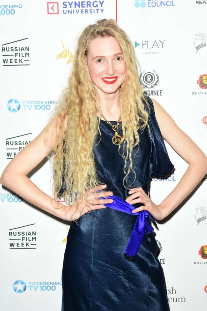 Tamara Orlova-Alvarez - 2017 Golden Unicorn Awards in London