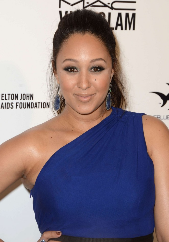 Tamera Mowry - 2016 Elton John AIDS Foundation's Oscar Viewing Party in West Hollywood