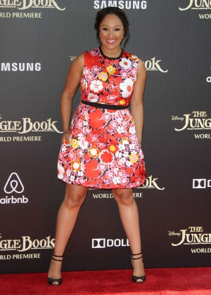 Tamera Mowry - 'The Jungle Book' Premiere in Hollywood