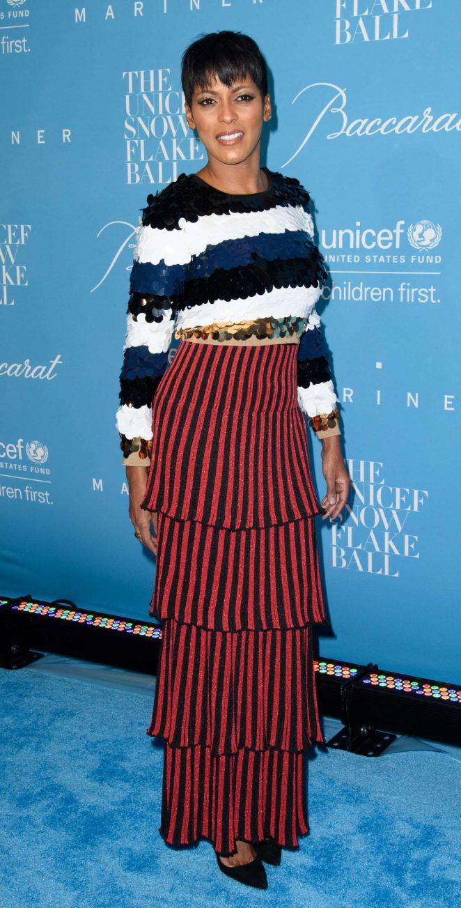 Tamron Hall - 2016 UNICEF Snowflake Ball in New York