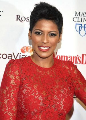 Tamron Hall - Woman's Day 14th Annual Red Dress Awards in New York