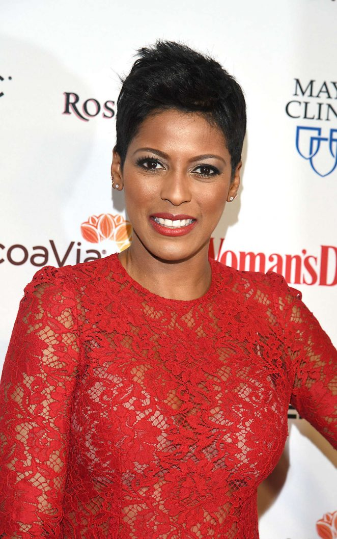 Womans Day Com >> Tamron Hall - Woman's Day 14th Annual Red Dress Awards in New York