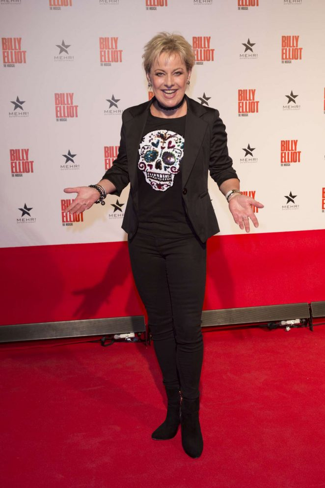 Tanja Schumann: Billy Elliot the Musical Premiere in Hamburg -03