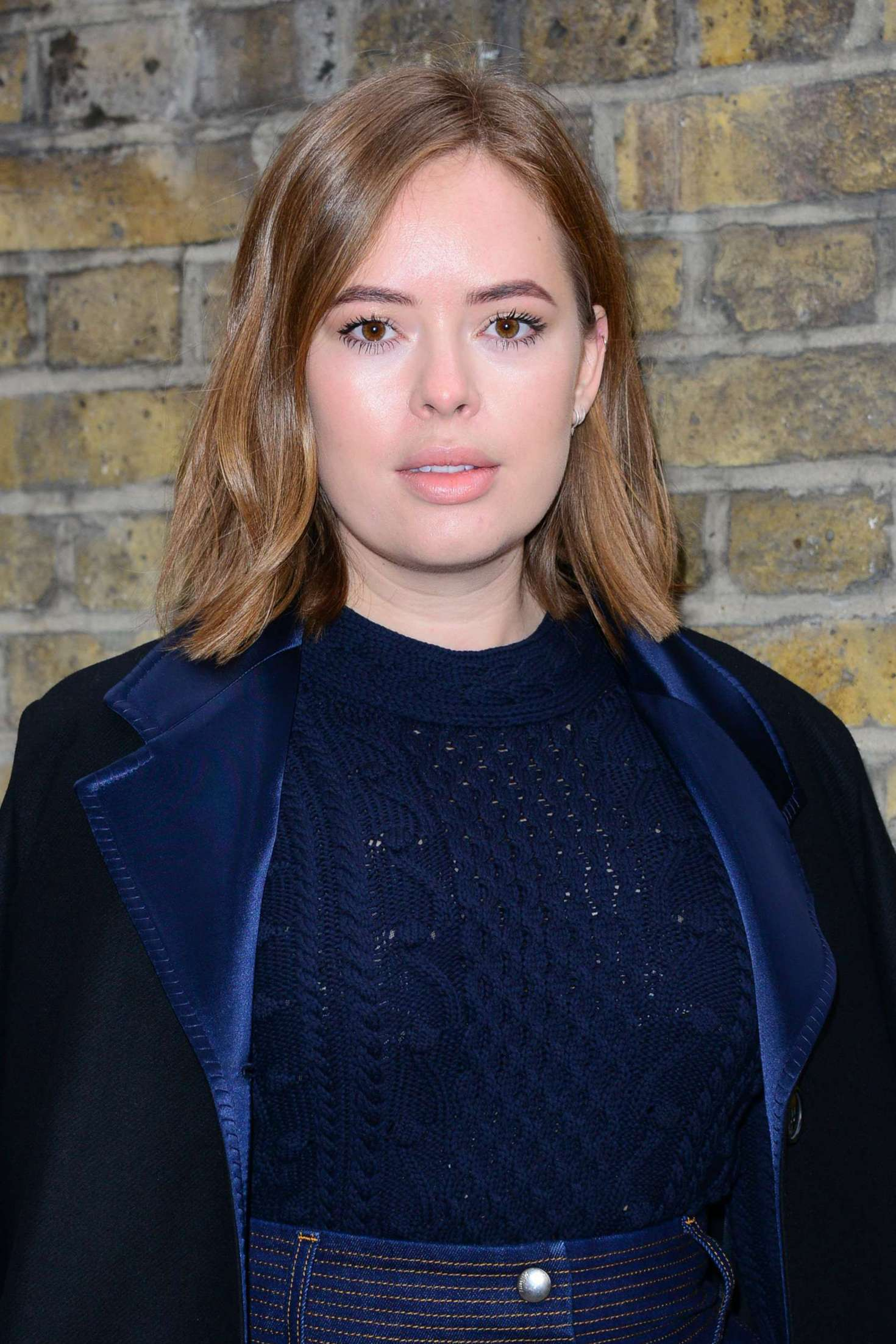 Tanya Burr - Mulberry Show at 2017 LFW in London