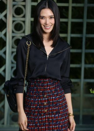 Tao Okamoto - Chanel Haute Couture SS 2018 Show in Paris