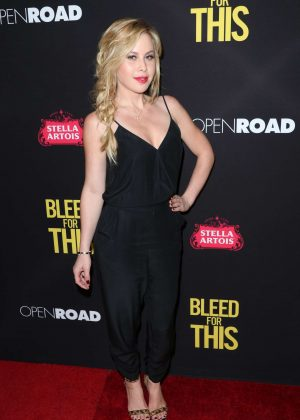 Tara Lipinski - 'Bleed for This' Premiere in Los Angeles
