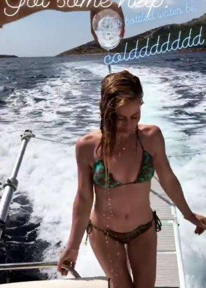 Tara Lipinski in Bikini - Social Media