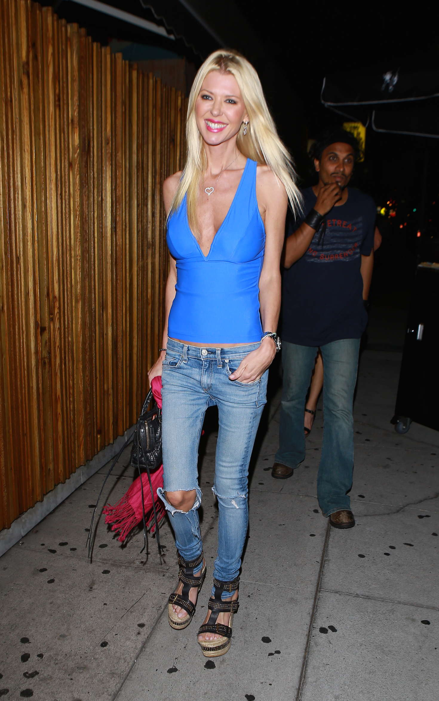 Tara Reid Arrives at The Nice Guy in West Hollywood