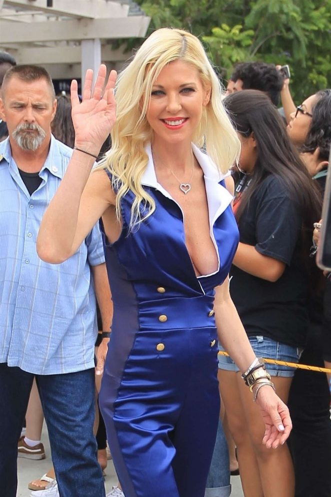 Tara Reid at 2018 Comic Con in San Diego
