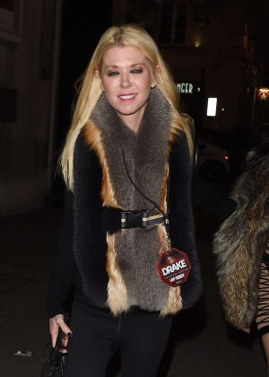 Tara Reid at Tape Nightclub in London