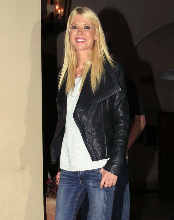 Tara Reid out for Dinner at Bouchon in Beverly Hills