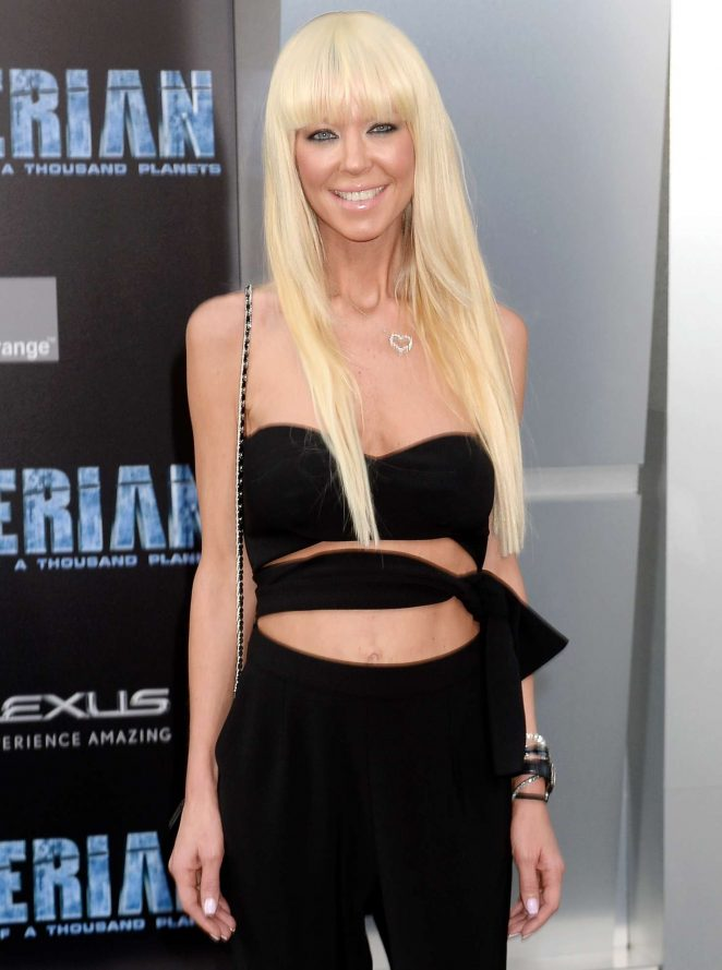 Tara Reid - 'Valerian and The City of a Thousand Planets' Premiere in Hollywood