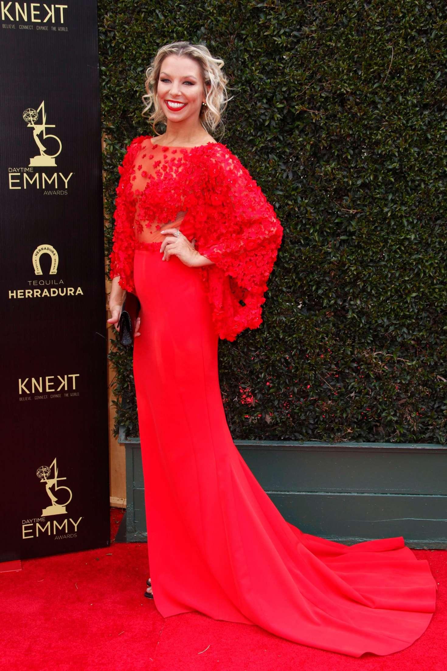 Tara Talkington - 2018 Daytime Emmy Awards in Pasadena Emmy Awards 2018