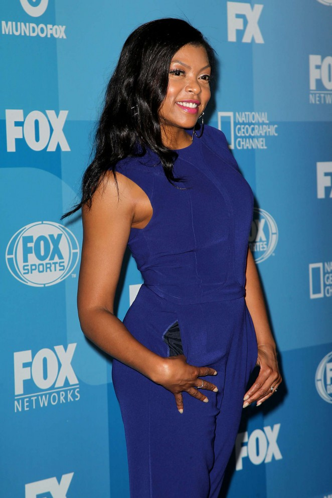 Taraji P. Henson - 2015 FOX Programming Presentation in NYC