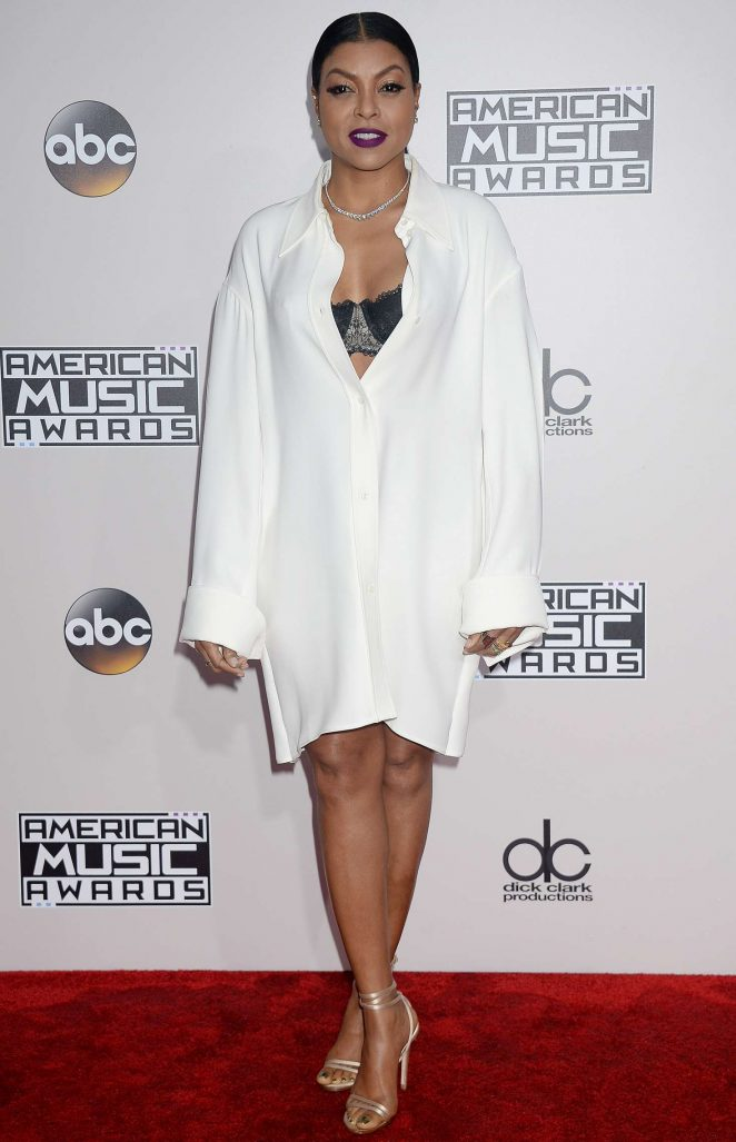 Taraji P. Henson - 2016 American Music Awards in Los Angeles