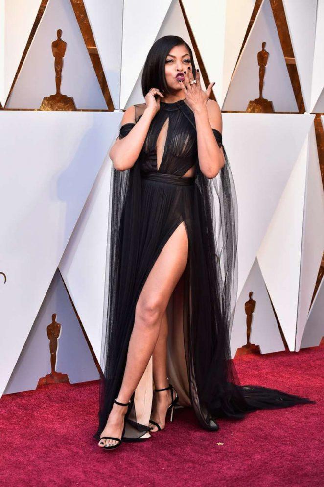 Taraji P. Henson - 2018 Academy Awards in Los Angeles