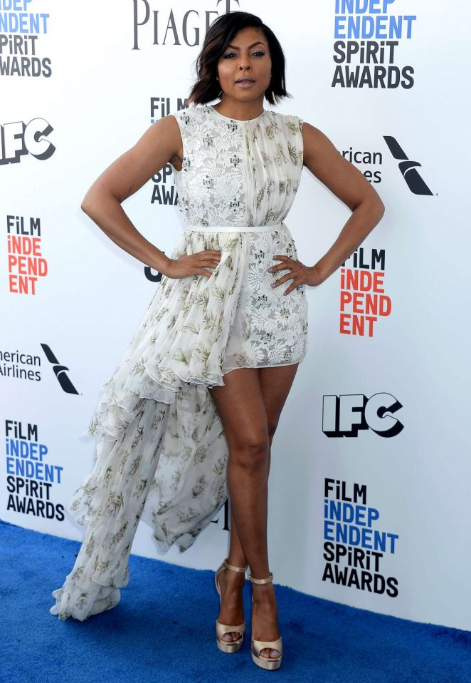 Taraji P. Henson - 32nd Film Independent Spirit Awards in Santa Monica