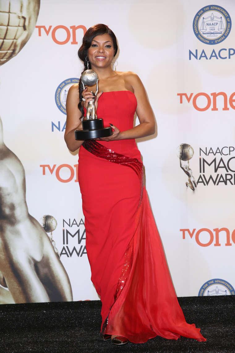 Taraji P. Henson 2015 : Taraji P. Henson: 2015 NAACP Image Awards -02