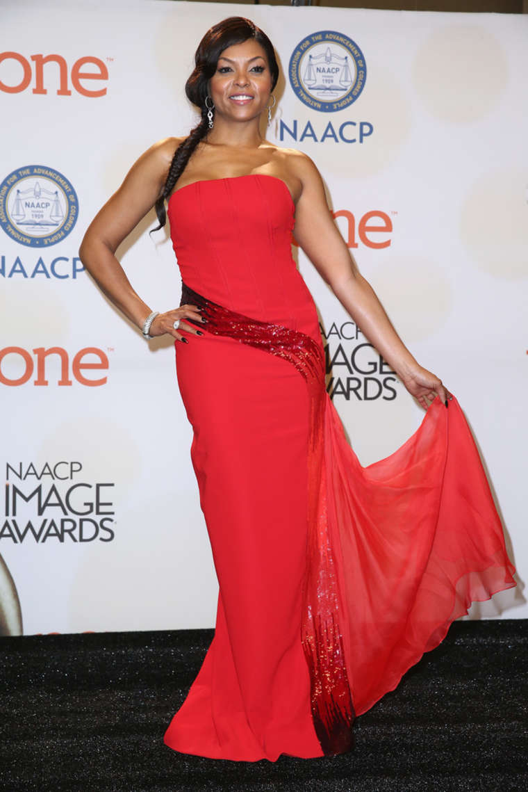 Taraji P. Henson 2015 : Taraji P. Henson: 2015 NAACP Image Awards -03