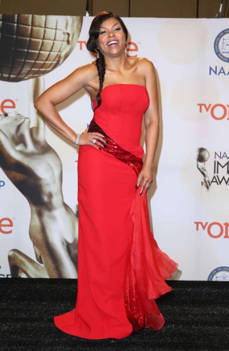 Taraji P. Henson 2015 : Taraji P. Henson: 2015 NAACP Image Awards -06