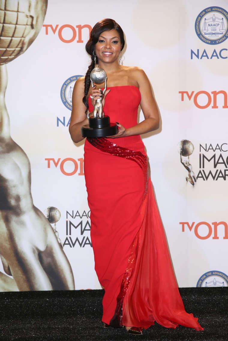 Taraji P. Henson 2015 : Taraji P. Henson: 2015 NAACP Image Awards -08