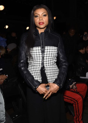 Taraji P. Henson - Alexander Wang 2016 Fashion Show in NYC
