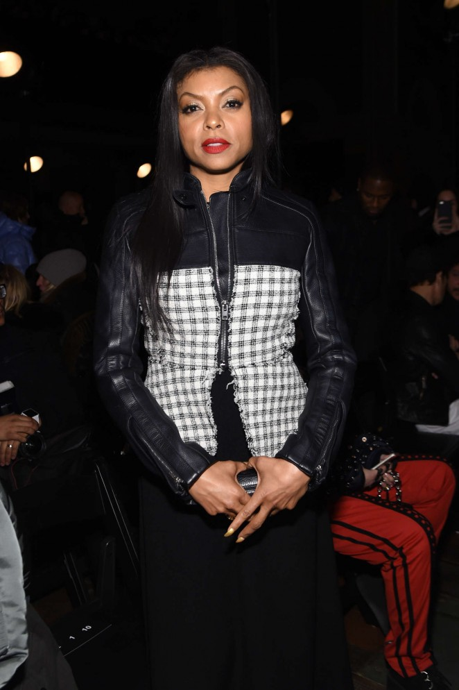Taraji P. Henson - Alexander Wang 2016 Fashion Show in NYC