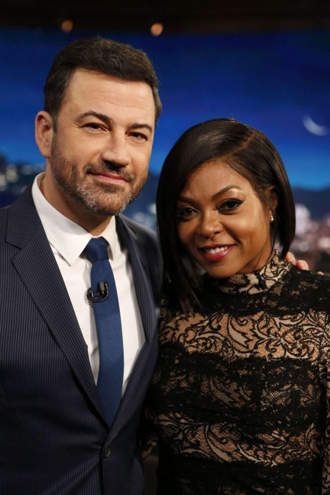 Taraji P. Henson at Jimmy Kimmel Live -02