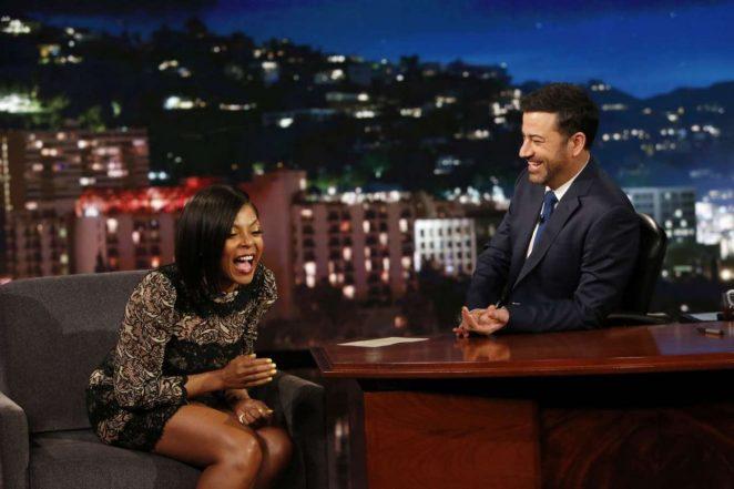 Taraji P. Henson at Jimmy Kimmel Live -05