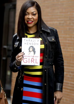 Taraji P. Henson at 'The View' TV show in New York