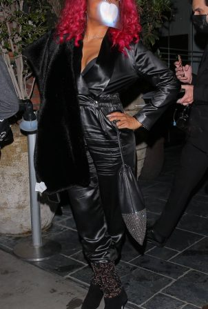 Taraji P. Henson - Celebrates Megan Thee Stallion's 3 Grammy wins in Hollywood