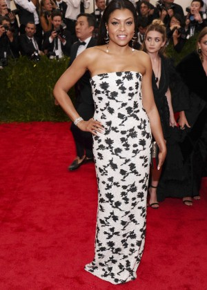 Taraji P. Henson - 2015 Costume Institute Gala in NYC