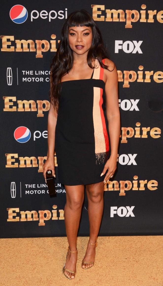 Taraji P. Henson 2015 : Taraji P. Henson: Empire Season 2 NY Premiere -04