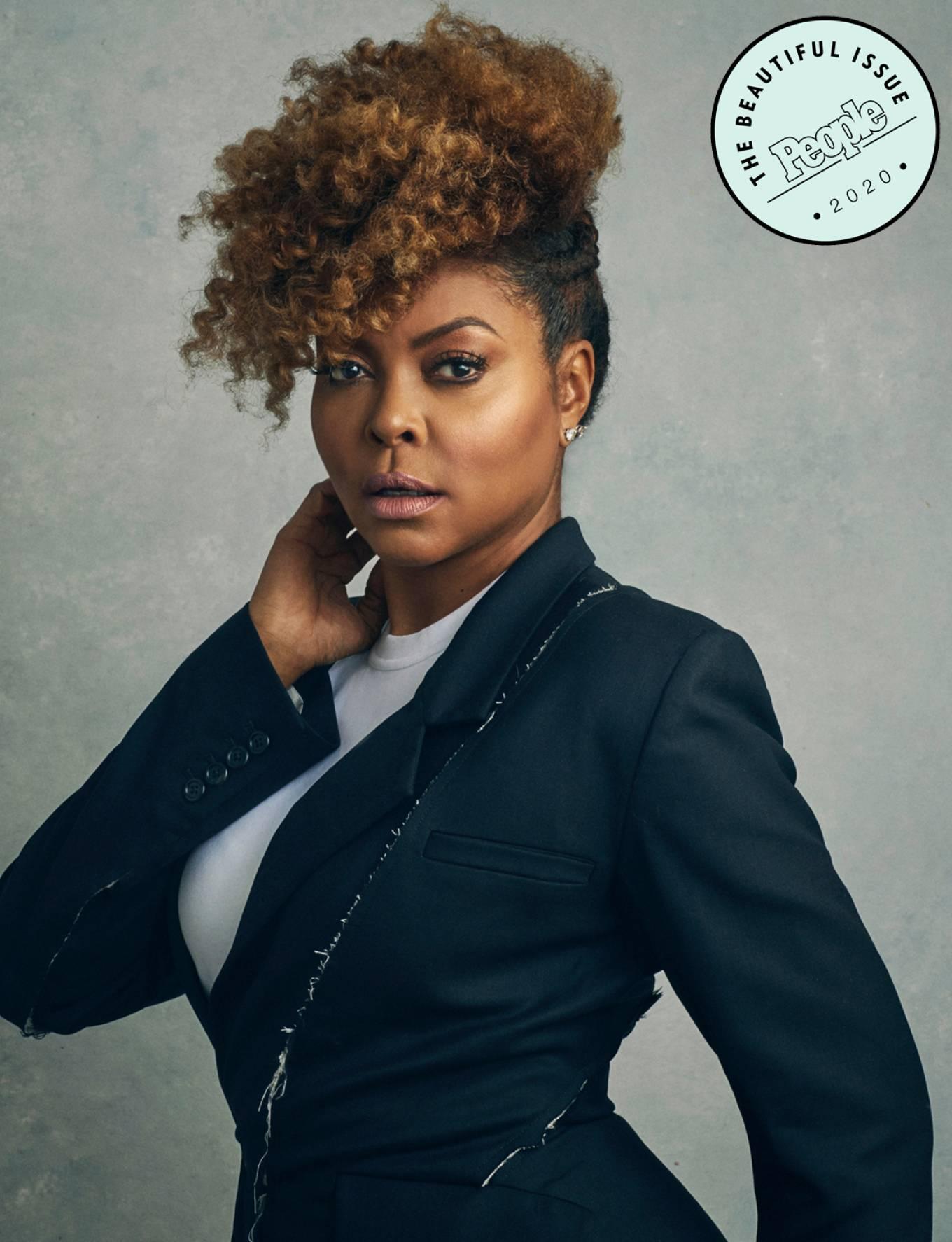 Taraji P. Henson - PEOPLE Magazine – 'Most Beautiful' (May 2020)