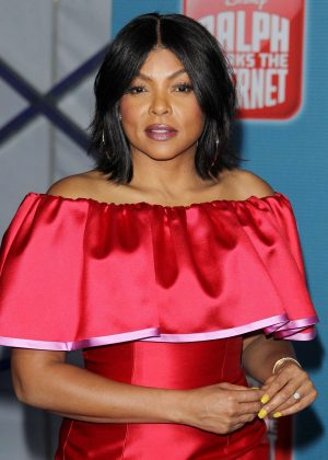 Taraji P. Henson - 'Ralph Breaks the Internet' Premiere in Hollywood