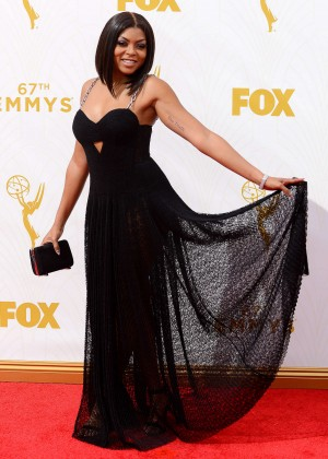 Taraji P. Henson - 2015 Emmy Awards in LA