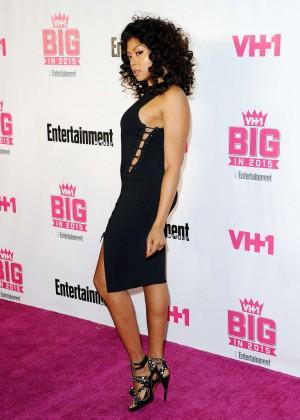 Taraji P. Henson - VH1 Big in 2015 With Entertainment Weekly Awards in LA