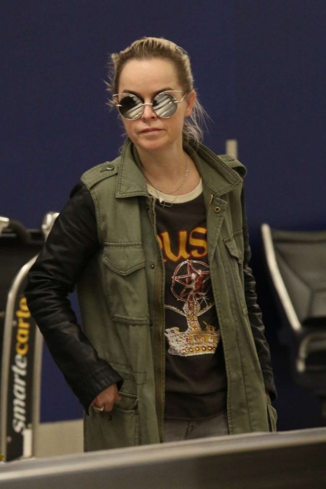 Taryn Manning at LAX Airport in Los Angeles